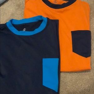 3 lands' end swim shirts with pockets 💦 10-12H